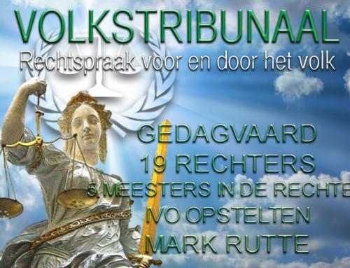 Lijst met gedagvaarden in de zaak Het Volk tegen de Staat der Nederlanden