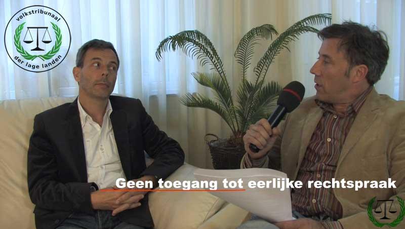 De Staat der Nederlanden geeft de mens geen toegang tot eerlijke rechtspraak