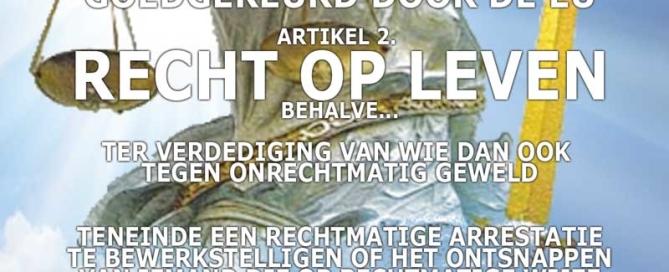 volkstribunaal mensenrechten. Het recht op leven 01